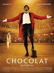 Fiche pédagogique pour le film «Chocolat» avec Omar Sy dans le rôle principal
