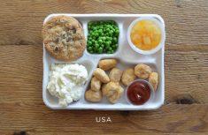 PHOTOS. Des plateaux-repas d'écoliers à travers le monde